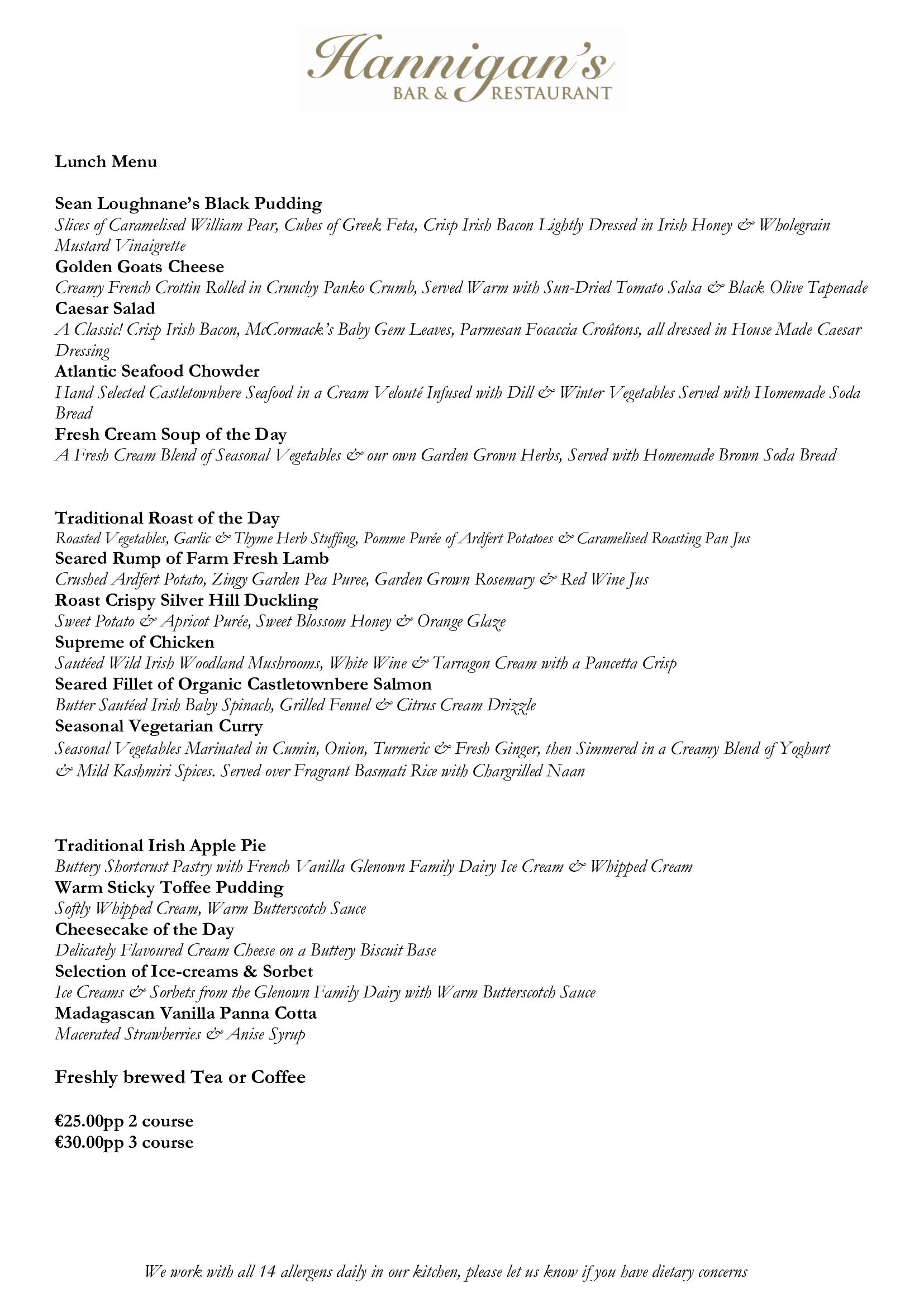 SAMPLE-Lunch-Set-Menu-2020   Lunch Menu